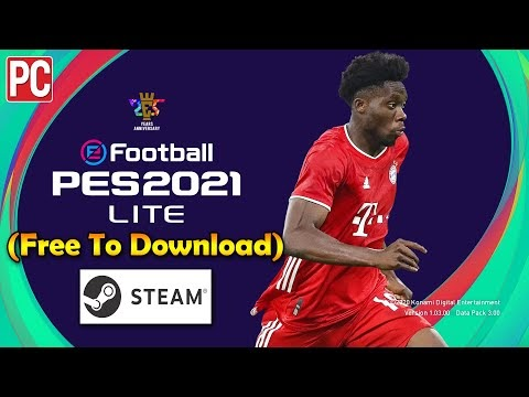 eFootball PES 2021 LITE STEAM Installation Process (Free To Download)