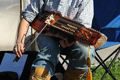Nickel-Harp Player, Detail
