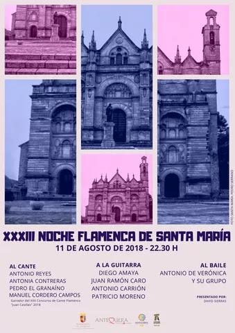 Noche Flamenca Santa Maria 11 agosto