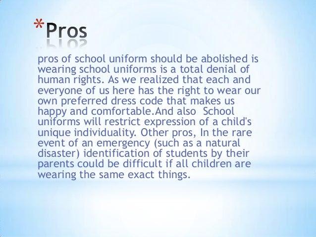 School uniforms should be mandatory essay dissertation on celebrity endorsement