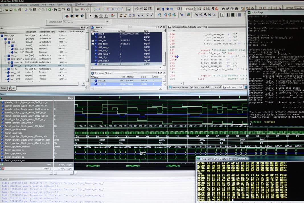 serial output