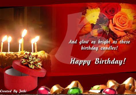 Glowing Birthday Wish! Free Happy Birthday eCards