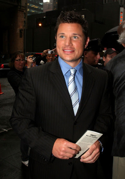 Nick Lachey - Arrivals for NBC Upfronts