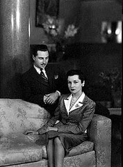 Princess Fawzia and Ismail Bey in their villa where the Israeli Ambassdor staying in now !!
