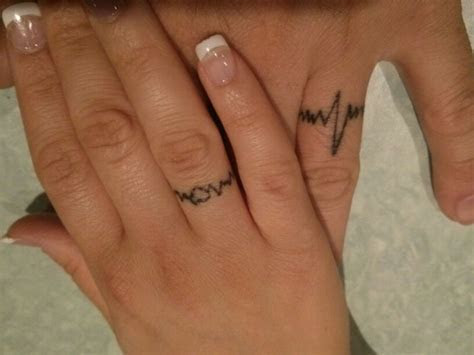 Our wedding tattoos   Ring tattoo ideas   Pinterest
