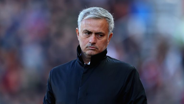 Mourinho's side have picked up 20 points from eight games so far this season