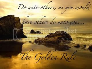 golden rule,sunset,kindness