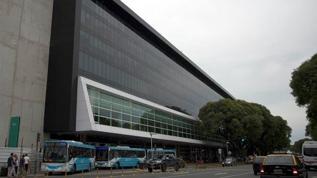 La nueva sede de Aerolíneas junto al Aeroparque, donde hoy asumirá la ejecutiva