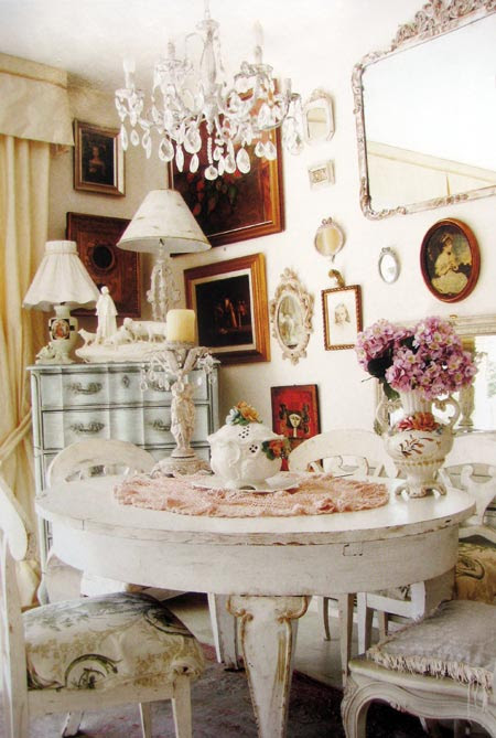 SHABBY CHIC DINING ROOM CHAIRS | DINING CHAIRS