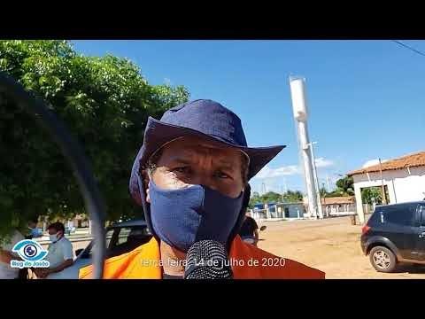 Defesa civil do município orienta e distribui mascaras no Distrito de Queimadas em João Câmara