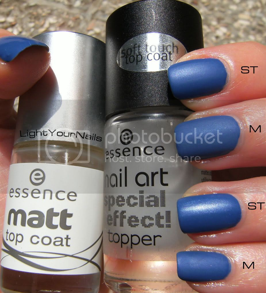 Essence Matt Top Coat, Essence Nail Art Special Effect Topper! Soft Touch Top Coat