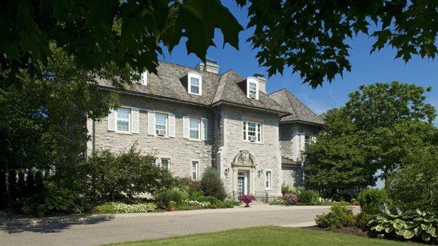 Le 24, promenade Sussex, résidence officielle du premier ministre du Canada