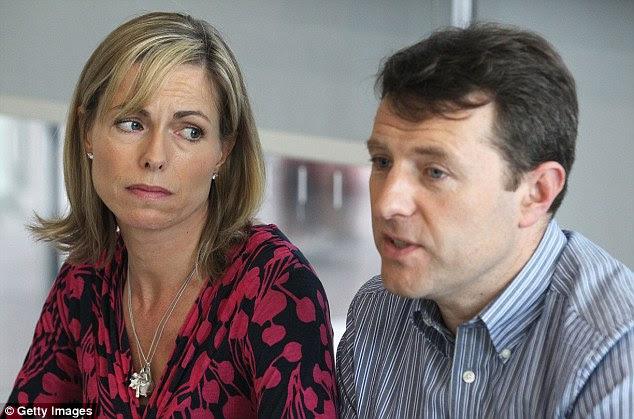"""Kate e Gerry, ambos com 48 anos, disseram que vão processar se """"The Truth of the Lie"""" for vendido na Grã-Bretanha.  A Suprema Corte de Portugal rejeitou, no mês passado, o recurso de última instância do ex-detetive Goncalo Amaral em 2008"""