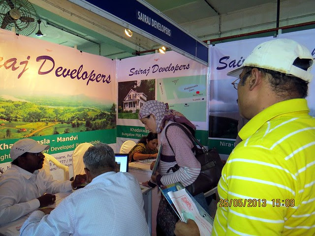 Sairaj Developers - Plots at  Nira Devghar Bhor - Khadakwasla Mandvi - Visit Sakal Agrowon Green Home Expo, 25th and 26th May, 2013