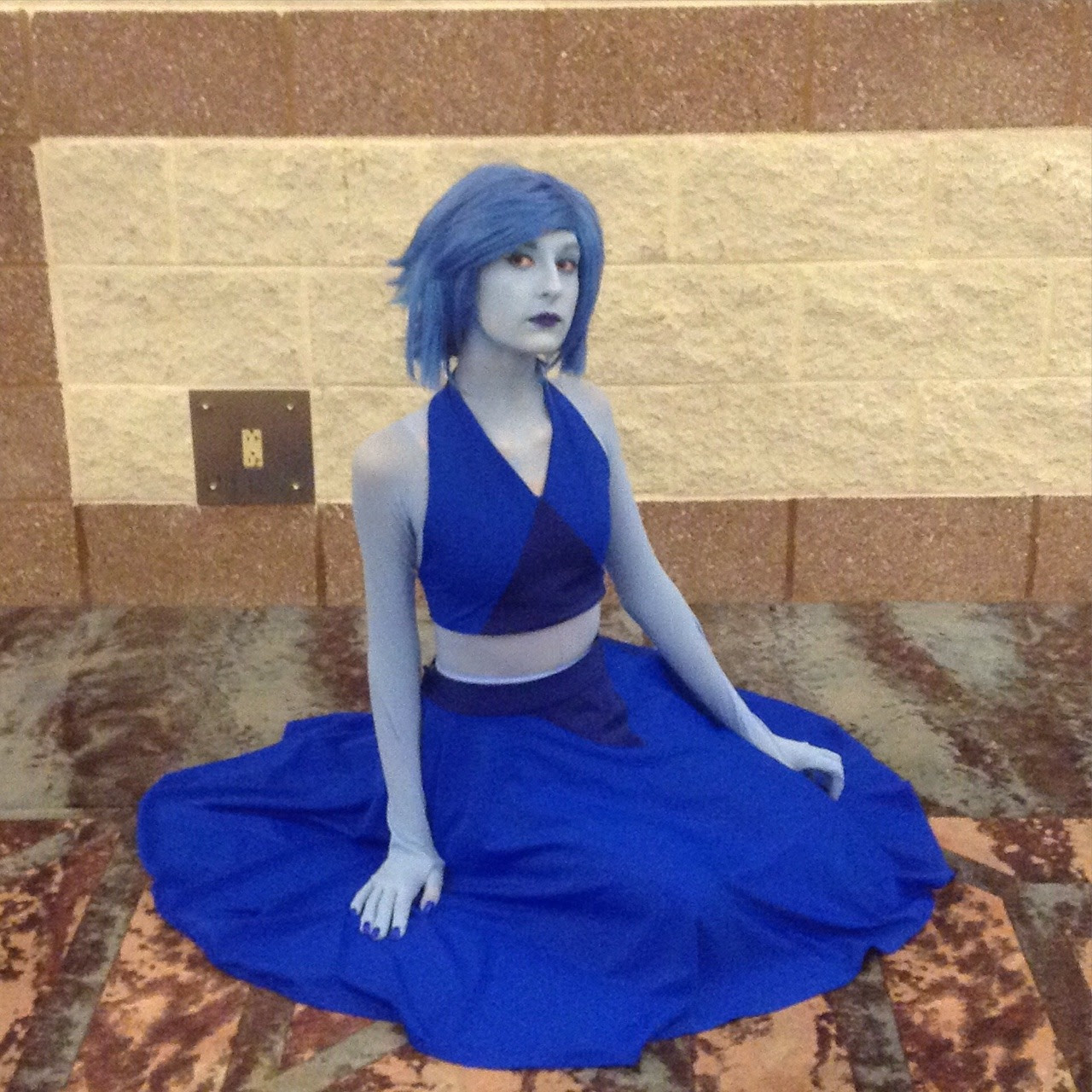 so far the most important pics of animeNEXT 2016 I am the painted lapis in the first 3 pics and the unpainted Bob in the last 2 tag yourself if you're there!