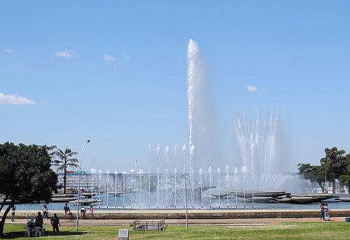 Fountain of Monumental Axis