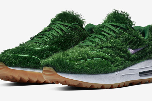 6c4c340223d0b NIKE unveils green 'grass sneaker' with latest air max 1 golf shoe iteration