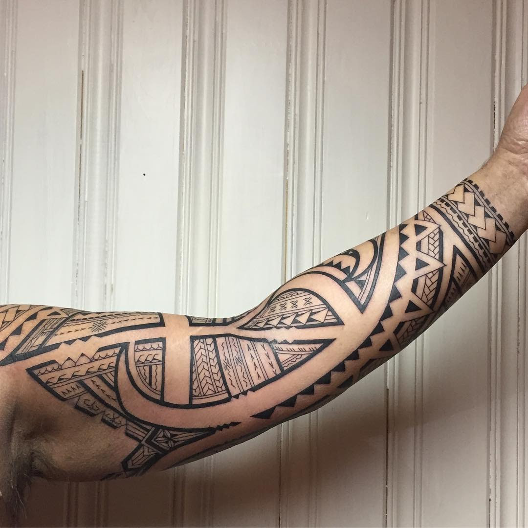 60+ Best Samoan Tattoo Designs & Meanings - Tribal ...