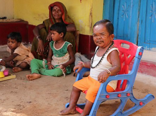 basori indian man look like a baby