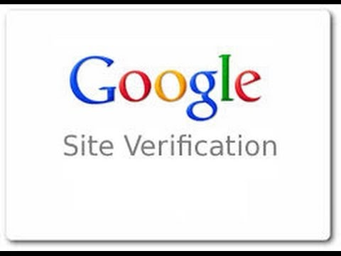 How To Verify Google Site With Webmaster tool using Blogger