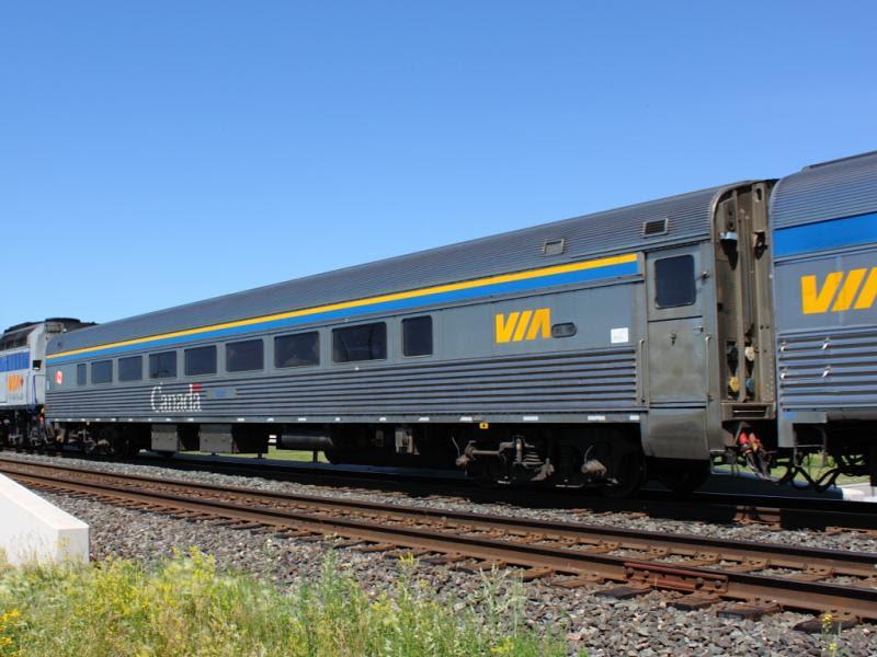 VIA 4121 in Winnipeg