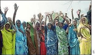 Low-caste Hindu women