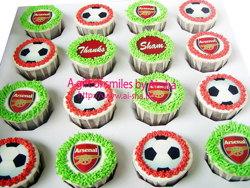 Birthday Cupcake Edible Image Arsenal