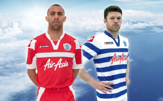 Queen Park Rangers: Home - Away Jersey 2012-2013