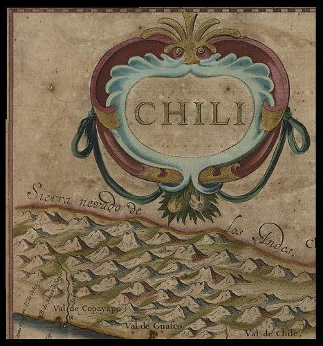 detail from map of Chile (Chili)