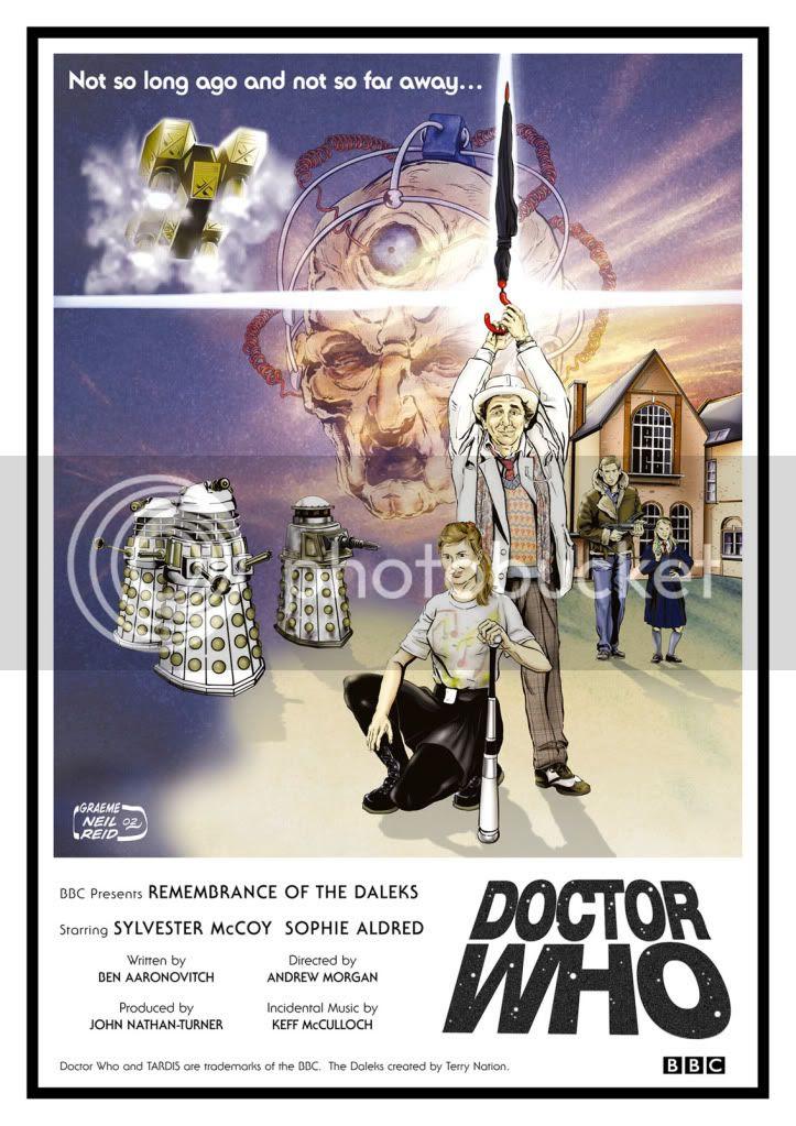 illustration,Doctor Who,Graeme Neil Reid