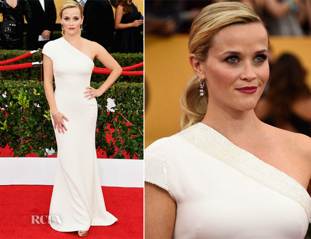 Reese Witherspoon In Giorgio Armani - 2015 SAG Awards