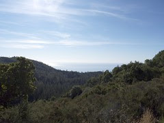 Ocean View from South Coast Ridge Road