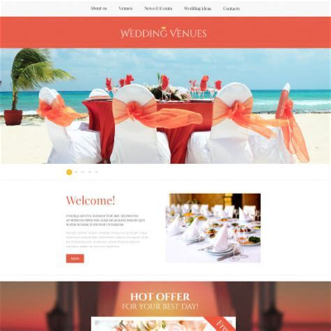15  Best Wedding Planner Website Templates