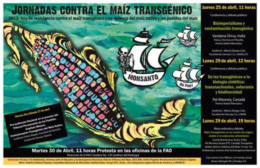 Jornadas contra el maíz transgénico