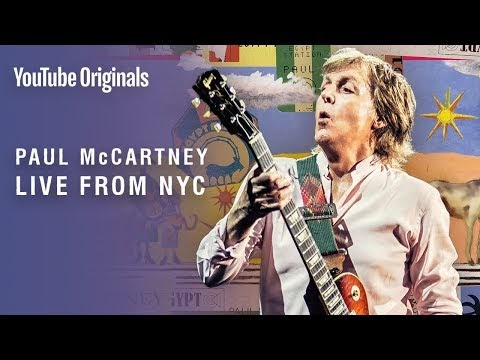 Watch Paul McCartney: Special Concert at NYC Grand Central