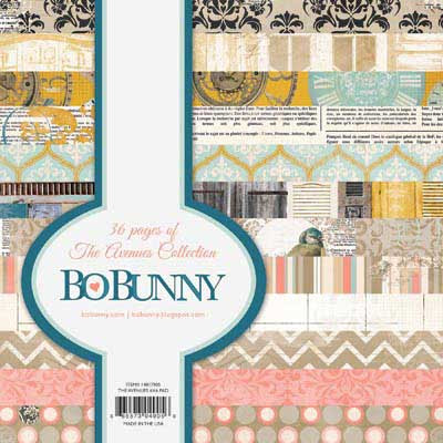 Bo Bunny The Avenues 6x6 Paper Pack