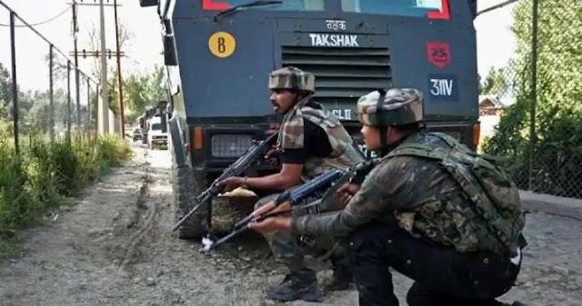 जम्मू-कश्मीर के बडगाम में मुठभेड़, दो आतंकवादी ढेर
