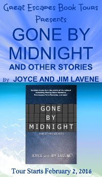 GONE BY MIDNIGHT small banner