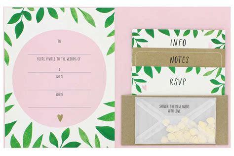 Paperchase Budget Wedding Stationery   hitched.co.uk