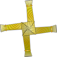 St. Brigid's Cross - Wikimedia Commons