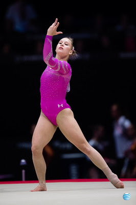 USA Gymnastics: Oct. 24 - U.S. Women's Qualifications &emdash; Brenna Dowell