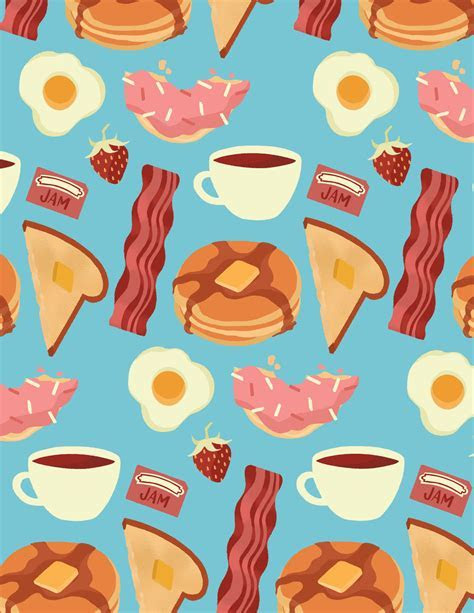 Food Patterns   Illustration by Niki Sauter