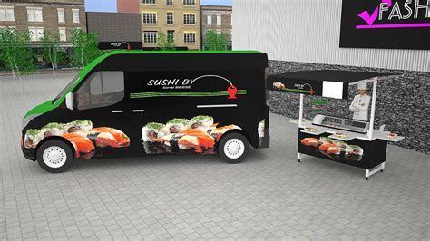 Notre truck food sushi !    Street Food Carts   Pinterest