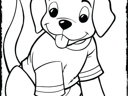 cartoon puppy coloring pages at getcolorings  free