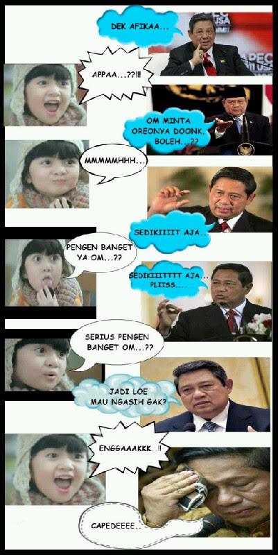 Afika Oreo vs SBY