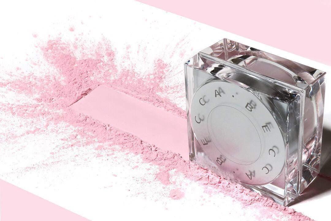 BECCA Soft Light Blurring Setting Powder in Pink Haze