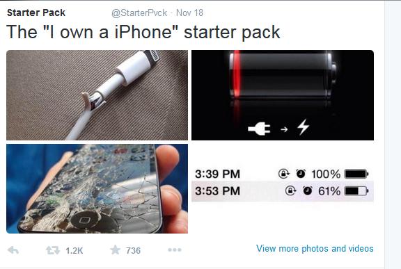 I got an Iphone starter pack | Starter Packs | Know Your Meme