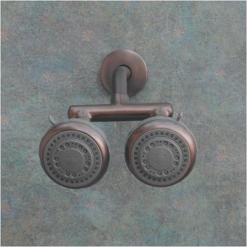 Michael S Madsen Firstmate Oil Rub Bronze Dual Shower Heads