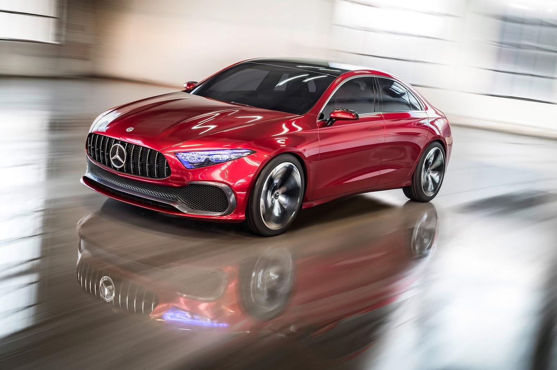 Mercedes-Benz Concept A Sedan Previews Next-Gen Compact ...