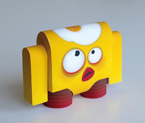 Eggbird Paper Toy